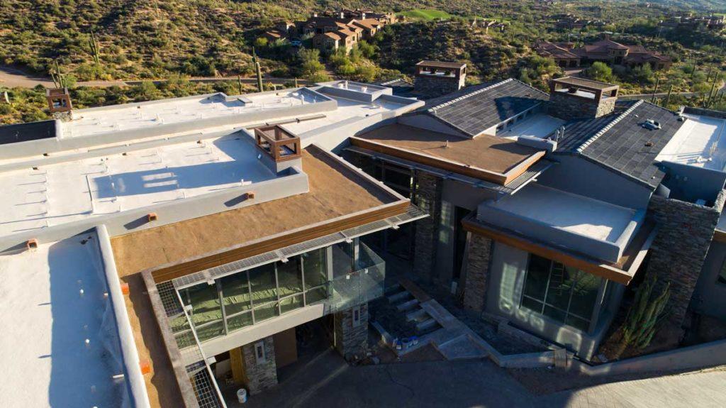 roof on mansion phoenix
