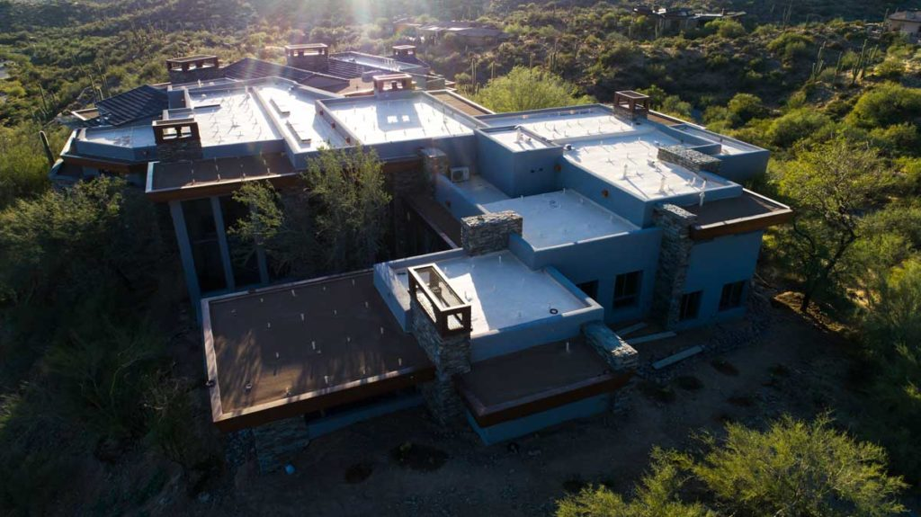 mansion with flat roof phoenix