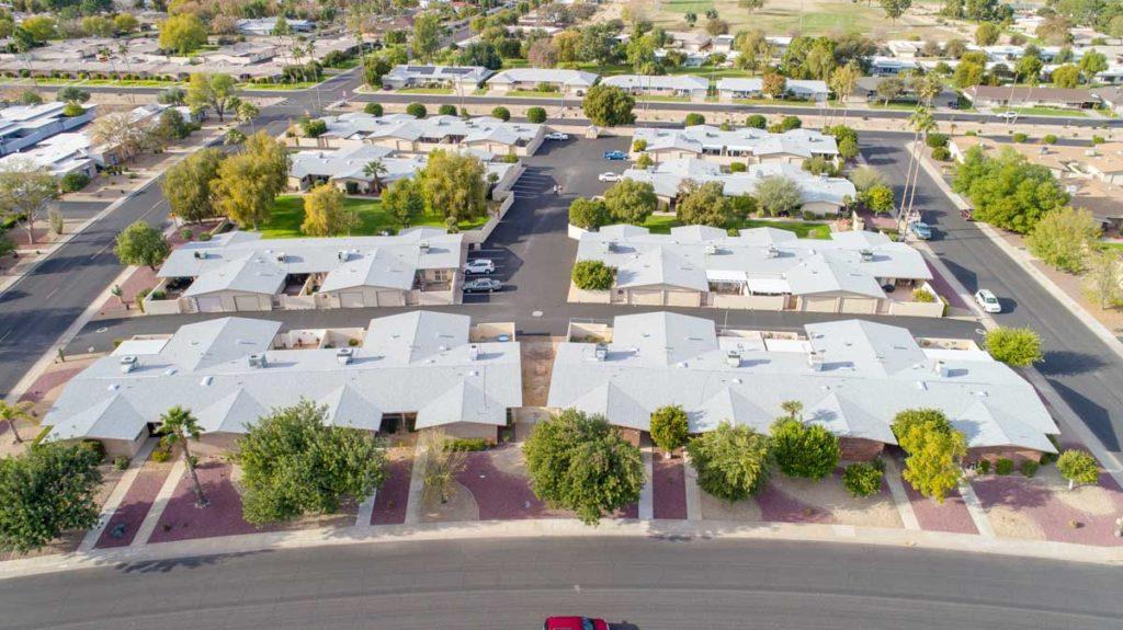 roofing on housing complex phoenix