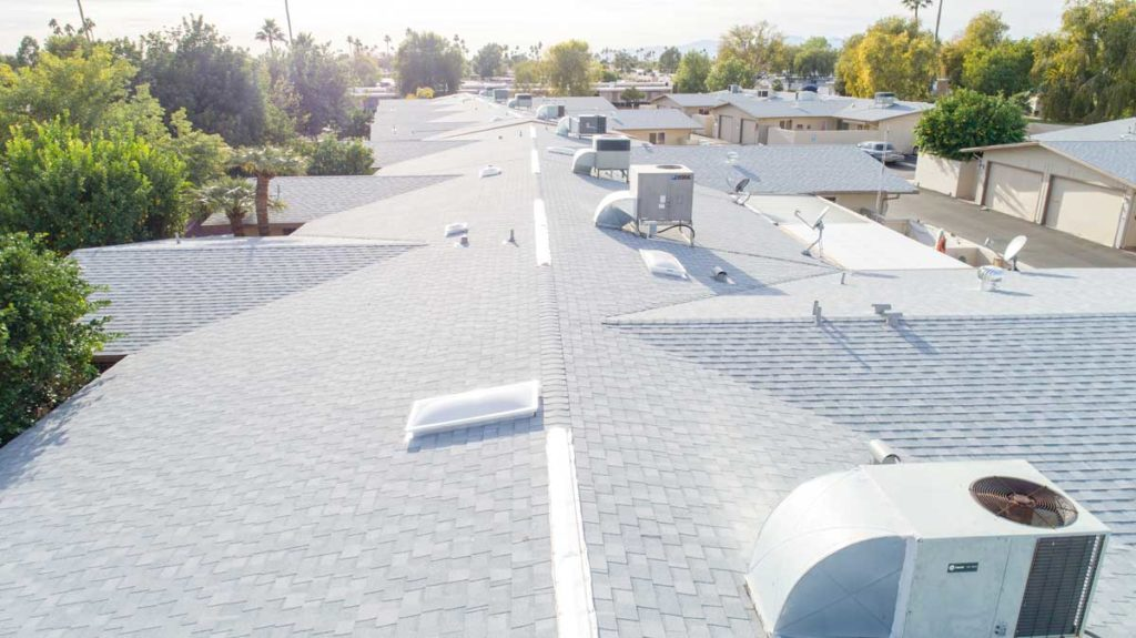 town home roof