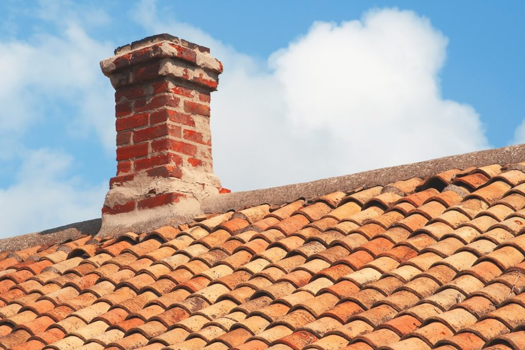 concrete tile roof with maintenance issues
