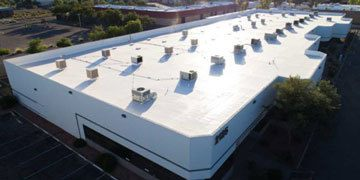 commercial roof on large building phoenix