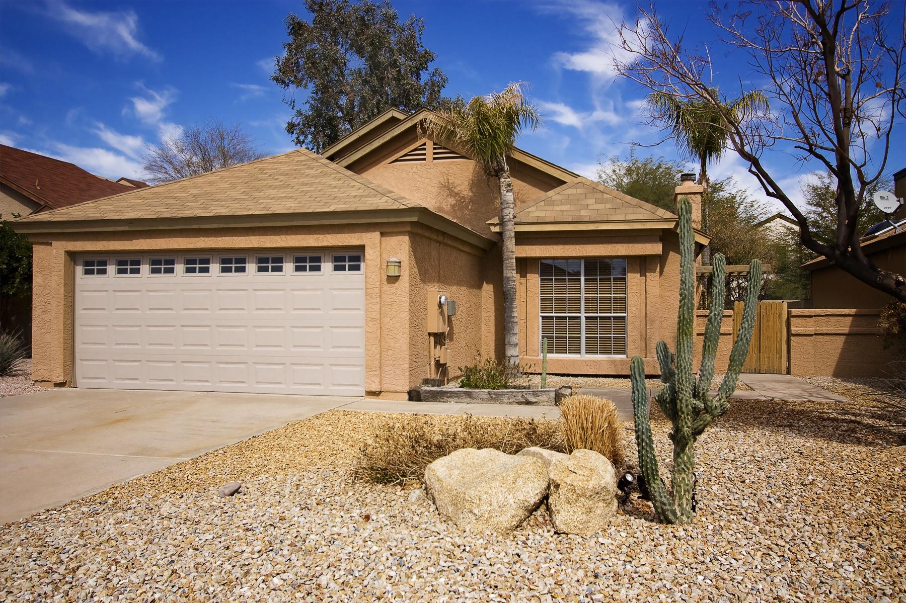 Residential roof in Phoenix, AZ.