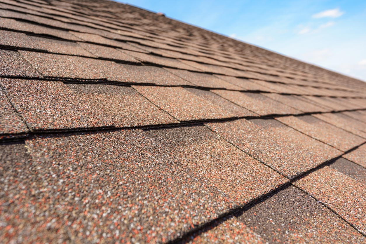 Close up photo of roof.