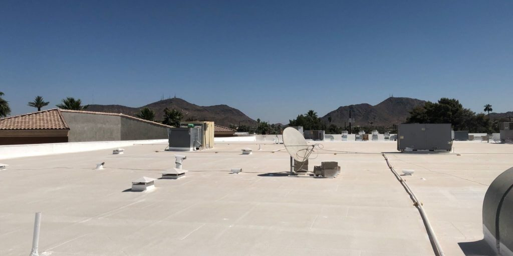 spray foam commercial roofing