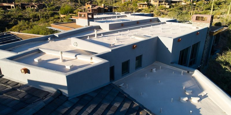 Flat roof in Arizona; Best Roofing Systems for Flat Roofs