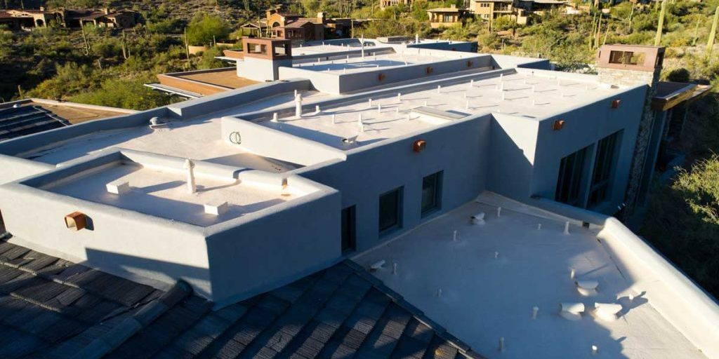 commercial building with flat roof phoenix